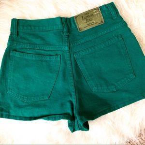 Vintage The London Jean High Waist Jean Shorts